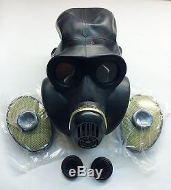 Masque À Gaz Noir Russe Soviétique Pbf Eo-19 Taille 0