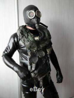 Masque Noir Ip5 Commandants Russe Gaz Recycleur Ip5 Ip5 Fétiche Soviétique Rare