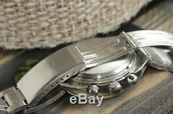 Meilleur Poljot 3133 Chronographe Légendaire Urss Militaire Russe Wristwatch Serviced