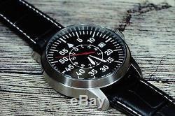 Montre À Main Poljot Aviator Russe Mécanique Militaire Ussr Pilote Unique