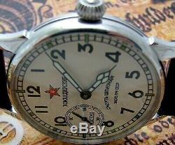 Montre De Molniya Vintage Aviateur Russe Ussr Mécanique Rare Poignet Origi Des Hommes Kom