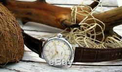 Montre De Pilote D'origine Russe Pour L'urss, Montre-bracelet Pour Homme Soviétique, Service De L'era, Mécanique, Rare