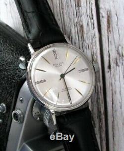 Montre De Poignet Vintage Ultra Slim De Luxe Russe Urss Soveit Mécanique