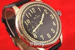 Montre De Style Militaire Vintage Russe Urss War2 Ww2 Pilot Laco