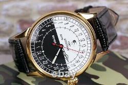 Montre-bracelet Raketa 24 Hours Spoutnik, Montre Soviétique, Montre Rare, Montre Russe