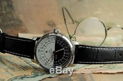 Montre-bracelet Sputnik 24 Heures 1957 Histoire Et Qualité De La Russie Soviétique! / Desservis