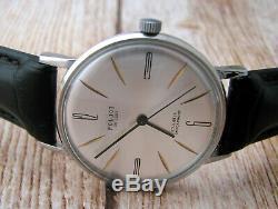 Montre-bracelet Vintage Russe Poljot Originale Mécanique Ussr Rare Soveit Era Pour Homme