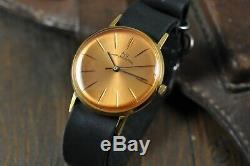Nos! Exclusif Luch Ultra Slim Urss Vintage Soviétique Russian Watch 2209