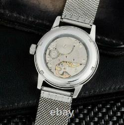 Nouveau! Raketa Watch 24h Polaire Mécanique Urss Russe Hommes Vintage Rare