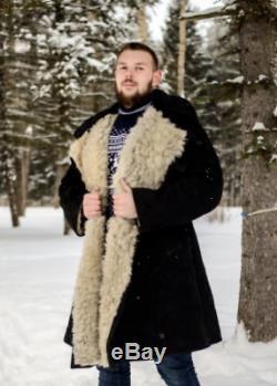 Nouveau! Russe (urss) Army Touloupe Bekesha Officier D'hiver En Peau De Mouton Manteau All Tailles
