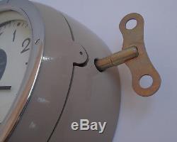 Nouveau! Urss Horloge Murale De La Marine De La Marine Soviétique Russe Sous-marine 3-93 7965