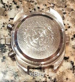 Okeah Okean Poljot 3133 Montre Vintage Soviétique Russe Urss Chronographe