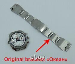 Okean Ocean Vintage Urss Montre Soviétique Russe Poljot Chronograph 3133 1499