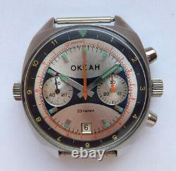 Okean Ocean Vintage Urss Montre Soviétique Russe Poljot Chronograph 3133 3199