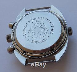 Okean Ocean Vintage Ussr Montre Soviétique Russe Poljot Chronograph 3133 7514