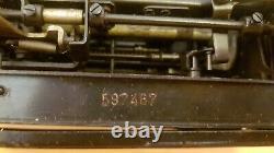 Olympia Robuste Machine À Écrire Sur Le Terrain Seconde Guerre Mondiale Période Allemagne Touches Russes Urss