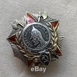 Ordre Original Alexander Nevsky Ordre De L'armée Soviétique Russe 1945 Ww2 Wwii Militaire
