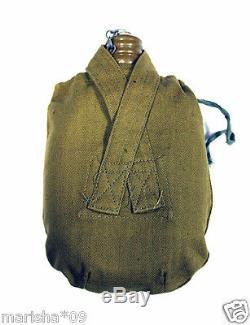 Original Soviétique Russe Armée Soviétique Flacon Militaire Eau Vodka Cantine Soldat