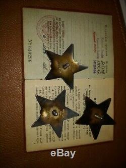 Original Urss Cccp Russe Ww2 Ordre Du Red Star