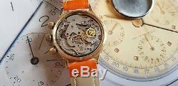 Orologio Poljot Sturmanskie Urss Russe Chronographe 3133 Valjoux 7734