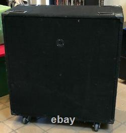 Ours Rouge (gibson) Original Urss Russe 4x12 Straight Guitar Speaker Cabinet