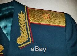 Pantalons Tunique Soviétique Défilé Armée Russe Général Uniforme Urss