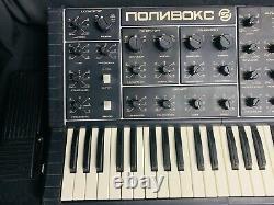 Polivoks Polyvox New Rare Soviet Vintage Synthétiseur Analogique Urss Russe