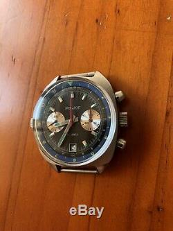 Poljot 3133 Schturmanskie Chrono 80 Cccp Vintage Russian Watch Nos
