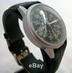 Poljot Laco Aviator Montre-bracelet Mécanique Armée Mode De Nice Urss Russe Sovei