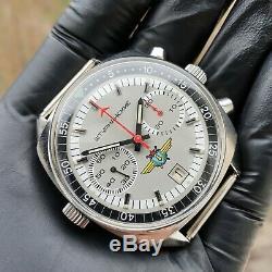 Poljot Shturmanskie 3133 Chronograph Soviétique De Russie Montre Mécanique