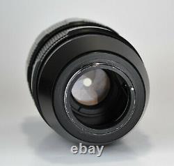 Près D'exc! Export Edition Russian Ussr Telephoto Jupiter-21m F4/200 Lens M42 (1)