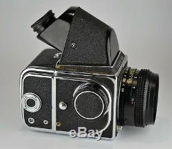 Pres Exc 1984 Russe Urss Kiev-88 Camera Format Moyen + MC Volna-3 F2.8 / 80 Lens