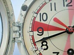 Radio Chambre Soviétique Russe Vostok Bateau / Navire Sous-marin De La Marine Cabin Clock