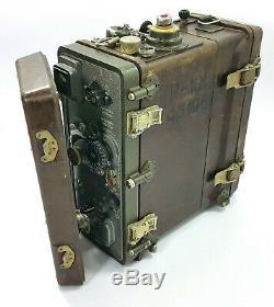 Radio Militaire R-105 P-105 Armée Soviétique Russe Récepteur Transceiver Guerre Froide Era