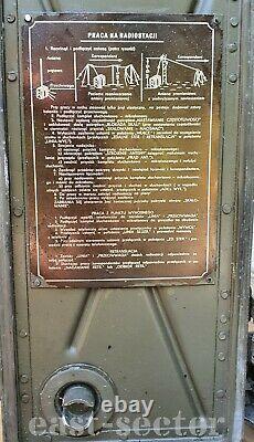 Radio Militaire R-105d P-105d Armée Soviétique Russe Récepteur Récepteur Urss Cccp