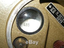 Radio Militaire Russe Urss R-126 (p-126) Rare Tube
