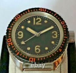 Raketa 2609 Plongeur Amphibien Soviet Russian Watch 19 Bijoux