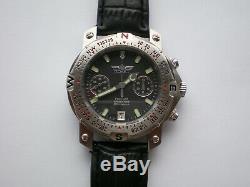 Rare Cal Poljot Chronographe Sturmanskie. 3133 Urss Montre De Russie