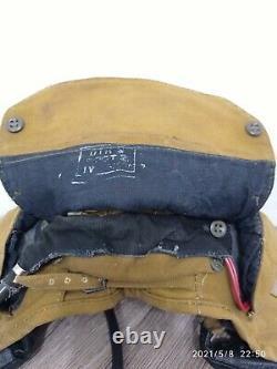 Rare Casque Tankman Tankman's Cap Original Russe Soviétique Très Rare