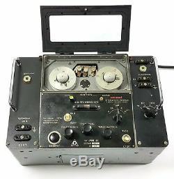 Rare Mn-61 Enregistreur Fil Lecteur Pour Kgb Russian Aircraft Téléphone Radio Soviétique