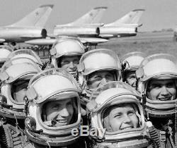 Rare Originale Russe Air Force Soviétique Espace Gsh-6a Casques Pour Mig-21