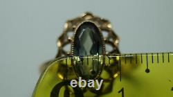 Rare Ring Russie Soviet Star Vintage Urss Bijoux Or 14k 583 Alexandrite