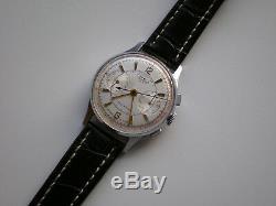 Rare Strela- Poljot Chronographe Montre Militaire Russe Urss Des Années 1960 Cal. 3017