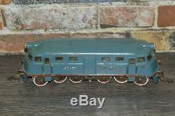 Rare! Vieux Vintage Jouet Russe Étain Soviet Modèle De Locomotive Train Staline