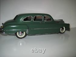 Rare! Vintage Zim Russian Ussr Tin Toy Car Contrôleur À Distance Mécanique