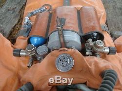 Recycleur De Plongée Russe Russe Du Sous-marin Ida59 + Combinaison + Masque (non Utilisé)