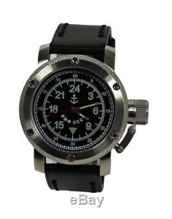 Russe 24 H Montre Automatique (# 012) Vmf Cccp Marine Soviétique