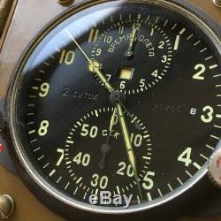 Russe Cockpit Militaire Ccss-1 Horloge Chronographe Avion Air Force De L'urss Rétro
