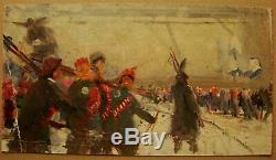 Russe Huile Soviétique D'ukraine Peinture L'ère Des Filles De Réalisme Staline