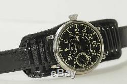 Russe Soviétique Montre-bracelet Vintage Style Militaire Mécanique / Serviced